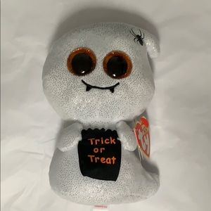 TY BEANIE BOOS : GHOST named Haunts NWT